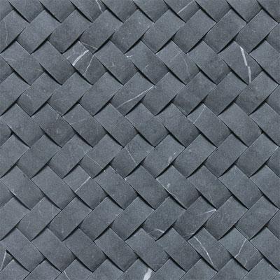 Daltile Basketweave Honed Contempo White Natural Stone Tile