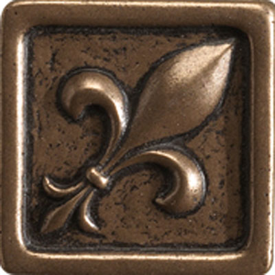Marazzi Fleurdelis 2x2 Wrought Iron Metal Tile