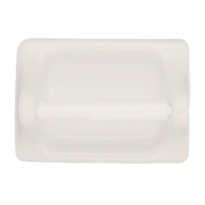 bathroom accessories color coordinates white paper holder